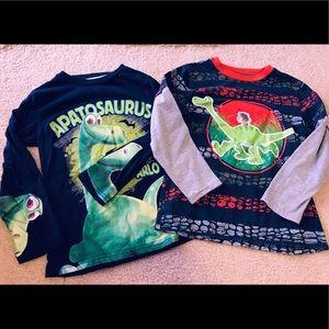 okie dokie Shirts & Tops - Disney's The Good Dinosaur Long Sleeve Tee Bundle